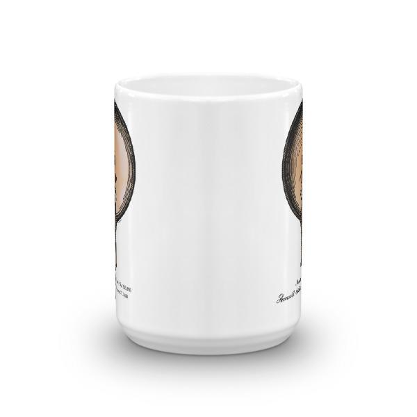 Edison Bulb 15oz Mug FRONT VIEW