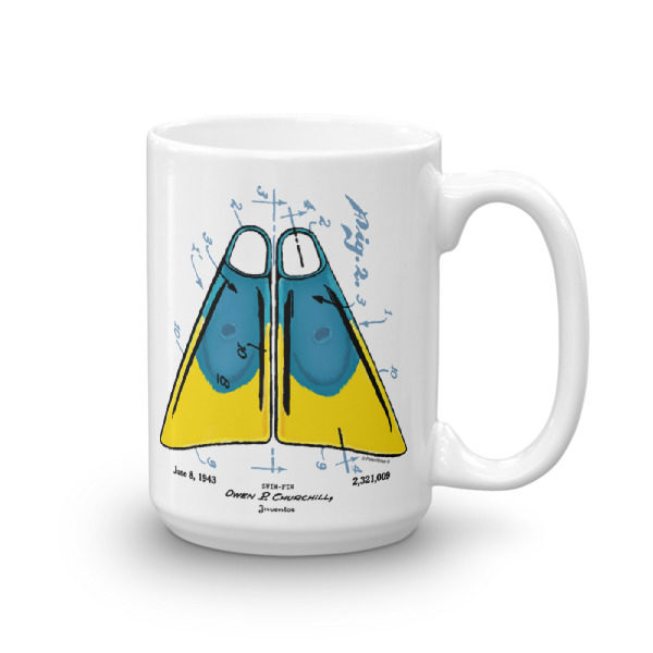 Churchill Fins 15oz Mug