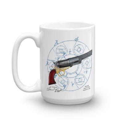 Colt Revolver 15oz Mug
