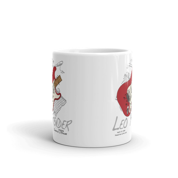 Guitar Solo 11oz Mug FRONT VIEW