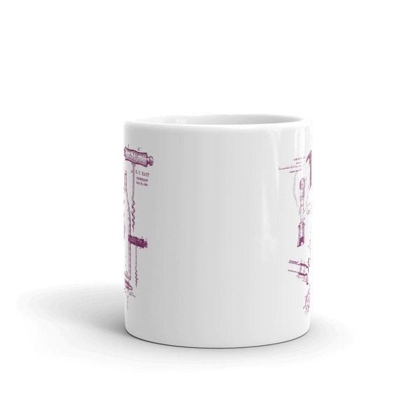 Corkscrew MS-Lineart 11oz Mug FRONT VIEW