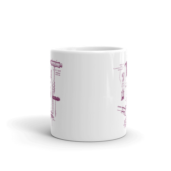 Corkscrew MS-Lineart 11oz Mug FRONT VIEW