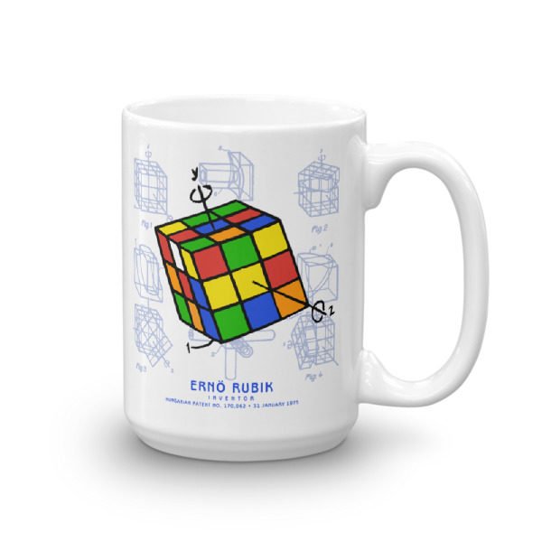 Magic Cube 15oz Mug