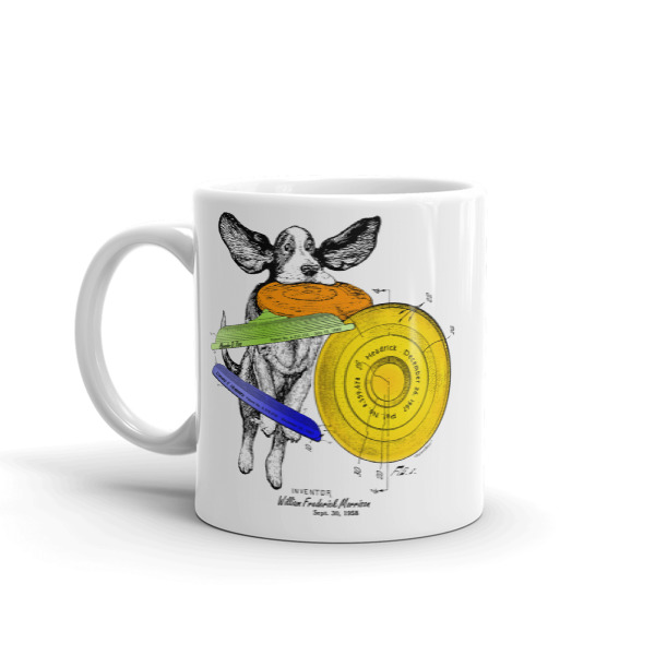 Flying Disc 11oz Mug