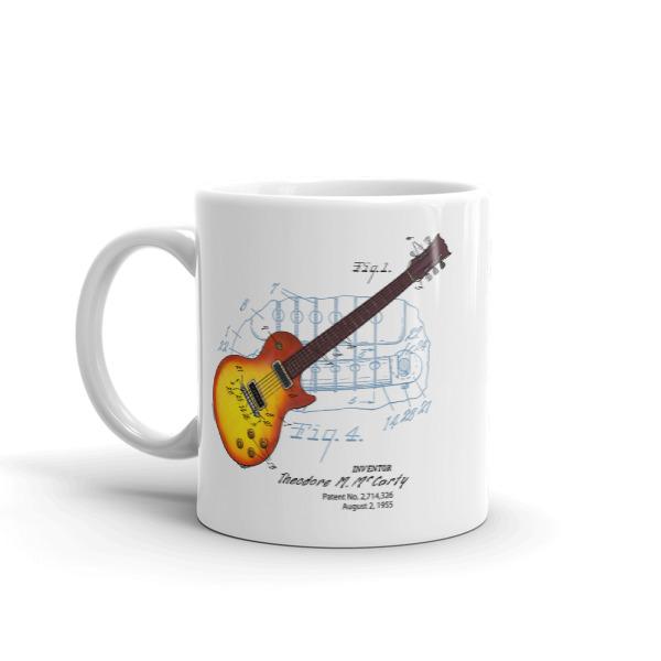 Sunburst Guitar 11oz Mug