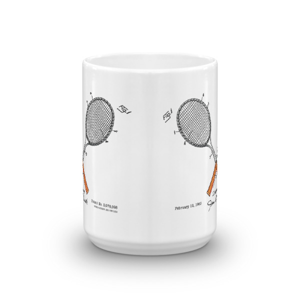 Tennis-Lacoste 15oz Mug FRONT VIEW