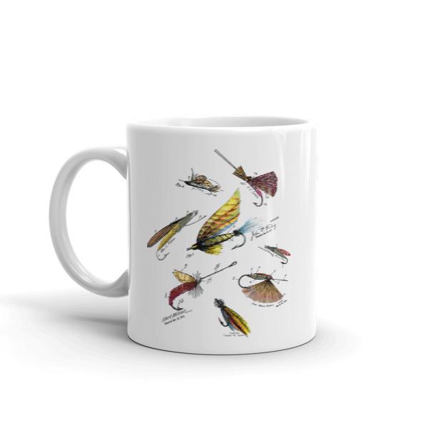 Fly Fishing Flies MS-Color 11oz Mug