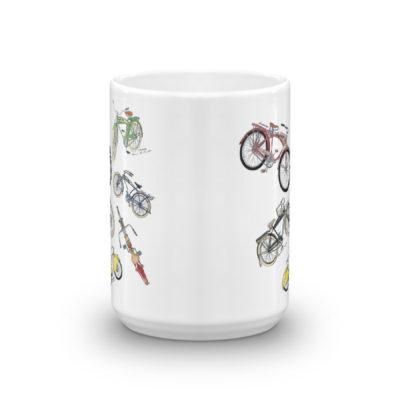 Bicycles MS-Color 15oz Mug FRONT VIEW