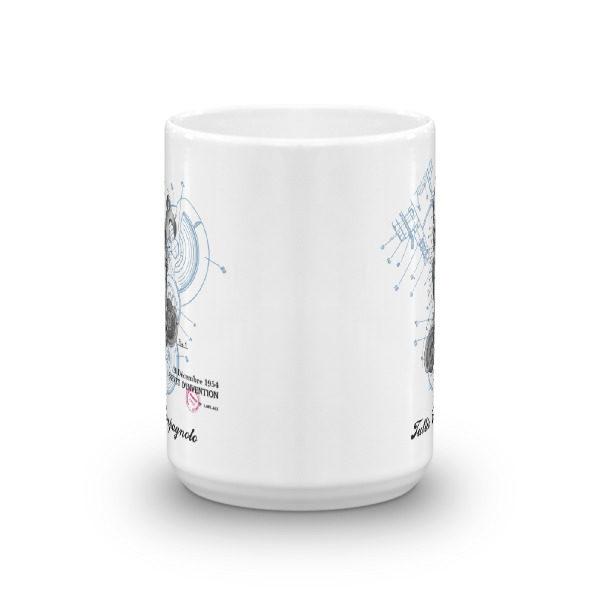 Derailleur-Campagnolo 15oz Mug FRONT VIEW