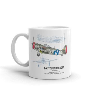 P-47 Thunderbird 11oz Mug
