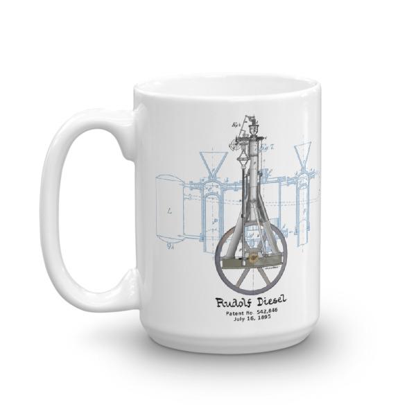 Diesel Engine 15oz Mug