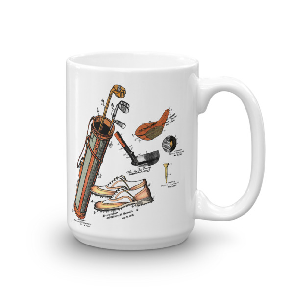 Golf MS-Color 15oz Mug