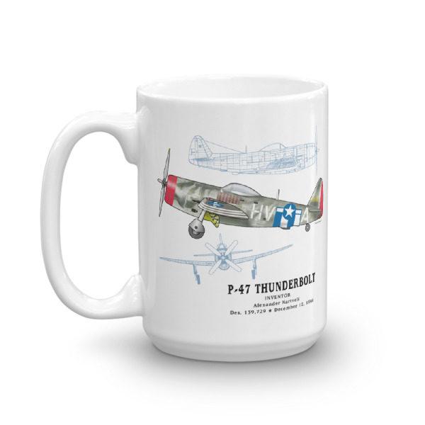 P-47 Thunderbird 15oz Mug