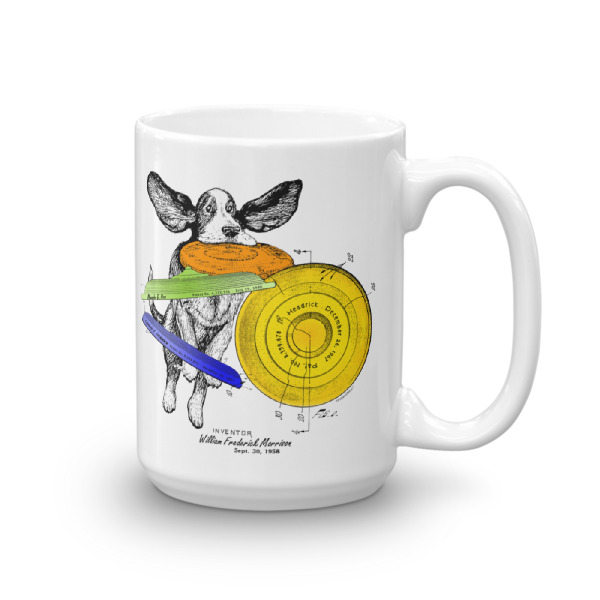 Flying Disc 15oz Mug