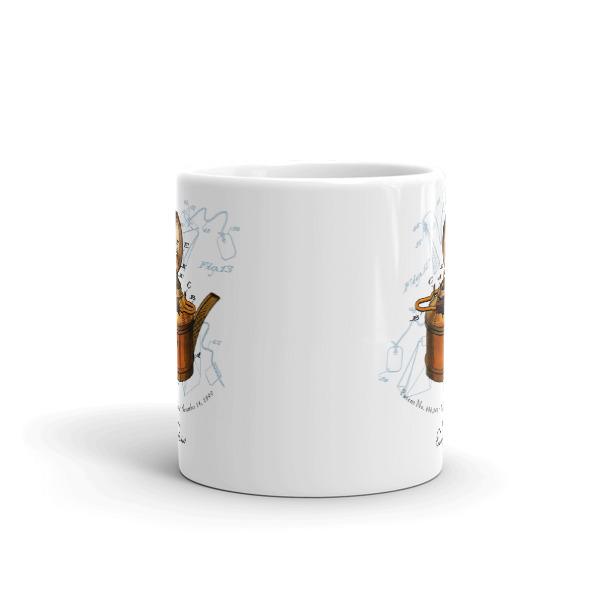 Tea Kettle 11oz Mug FRONT VIEW