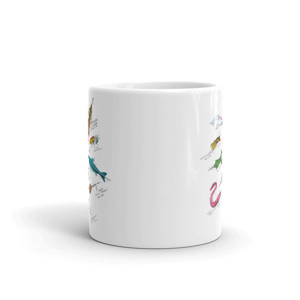 Lures MS-Color 11oz Mug FRONT VIEW