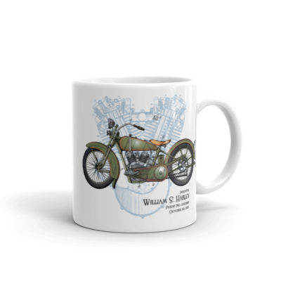 William S. Harley 11oz Mug