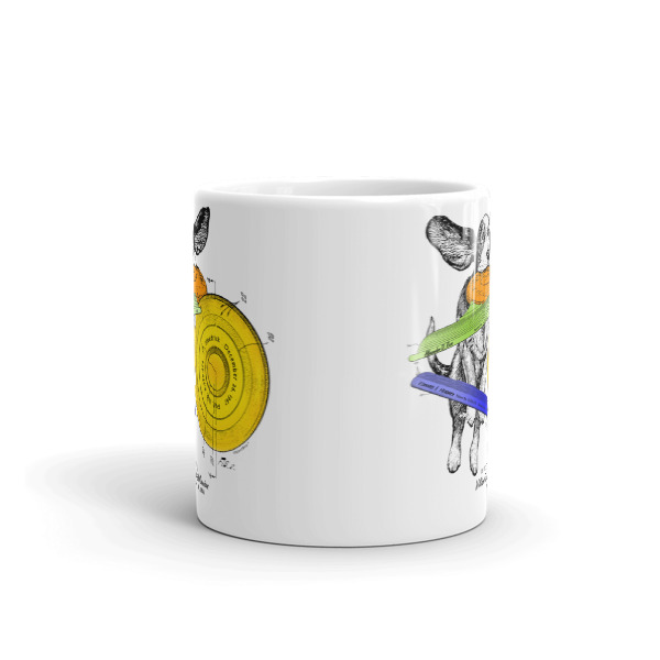 Flying Disc 11oz Mug FRONT VIEW