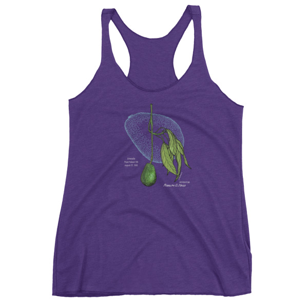 Avocado Women's Racerback Tank PURPLE RUSH