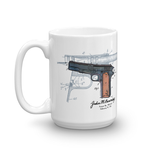 Browning Model 1911 15oz Mug