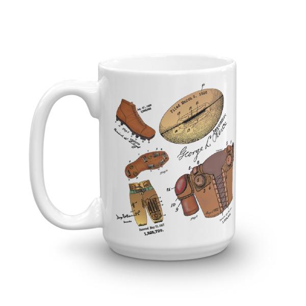 Football MS-Color 15oz Mug