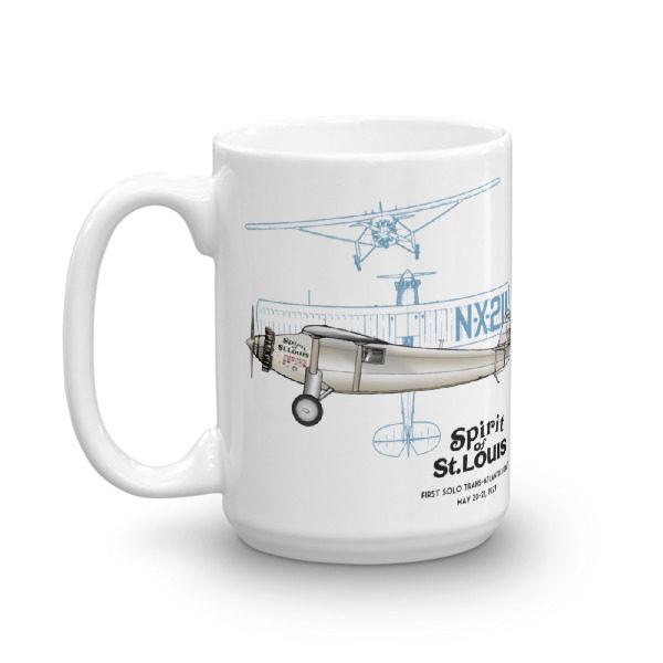 Spirit of St Louis 15oz Mug