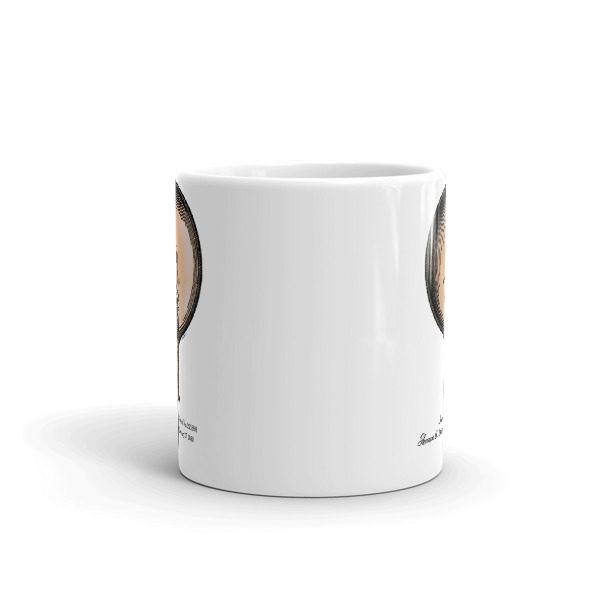 Edison Bulb 11oz Mug FRONT VIEW
