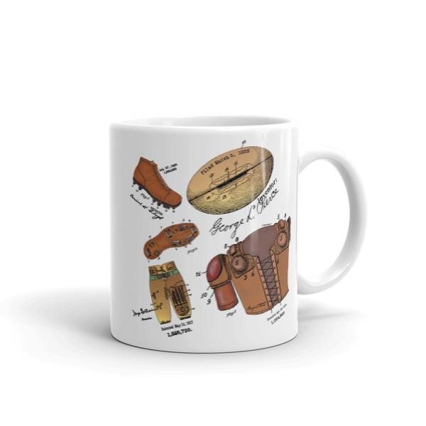 Football MS-Color 11oz Mug