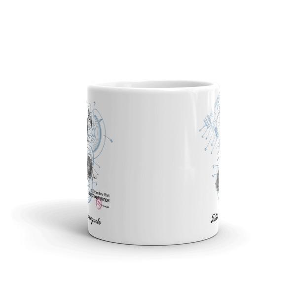 Derailleur-Campagnolo 11oz Mug FRONT VIEW