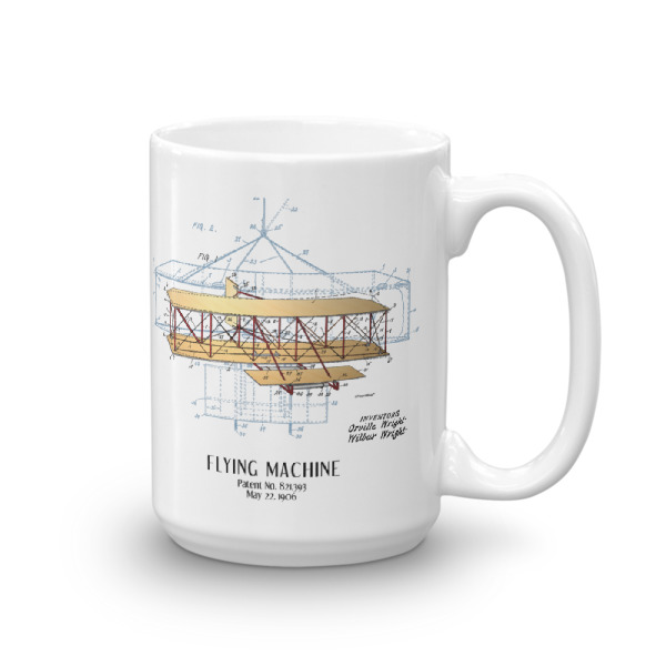 Flying Machine 15oz Mug