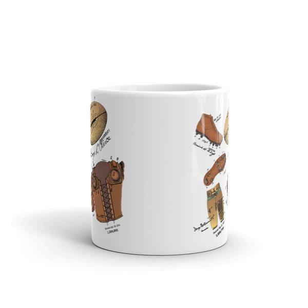 Football MS-Color 11oz Mug FRONT VIEW