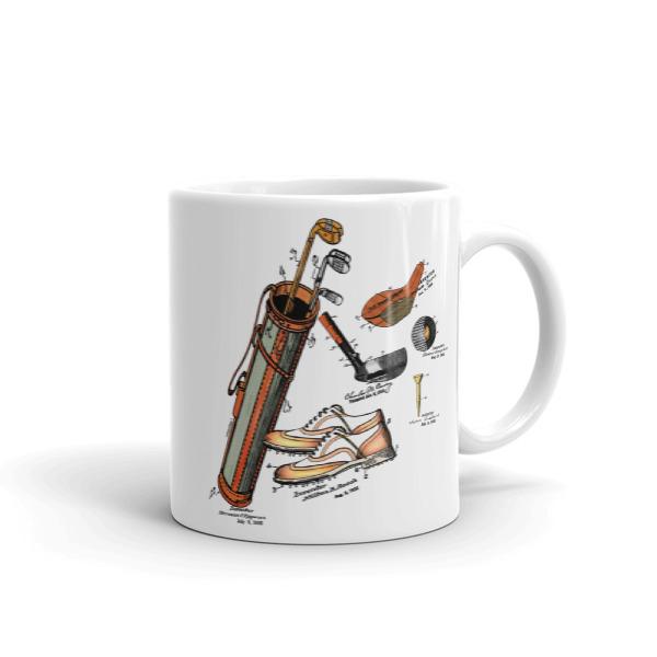 Golf MS-Color 11oz Mug