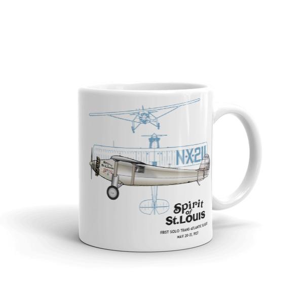 Spirit of St Louis 11oz Mug