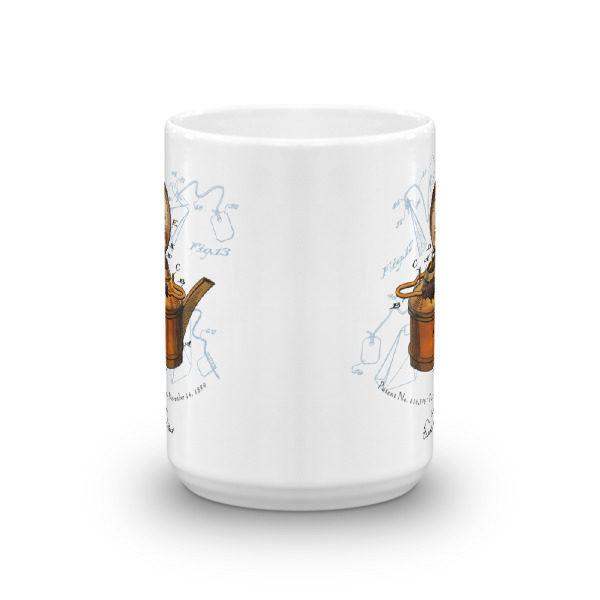 Tea Kettle 15oz Mug FRONT VIEW