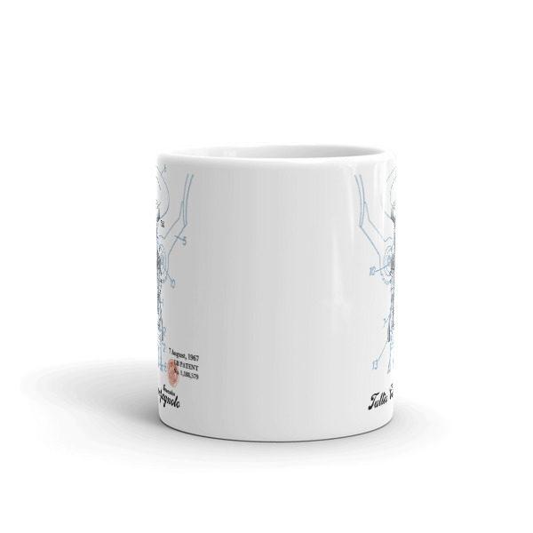 Corkscrew BIG Campy 11oz Mug FRONT VIEW