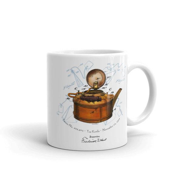 Tea Kettle 11oz Mug