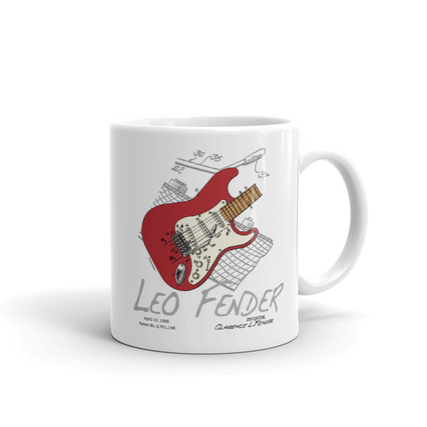 Guitar Solo 11oz Mug