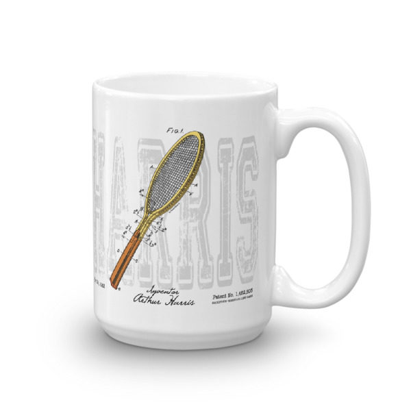 Tennis-Harris 15oz Mug