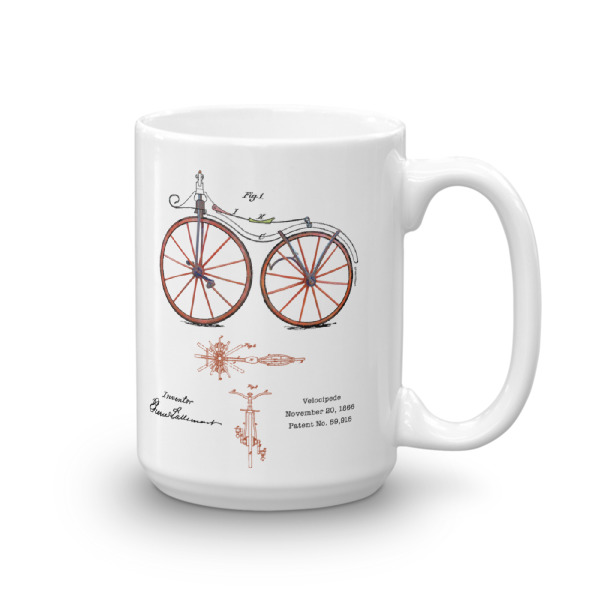 Velocipede 15oz Mug