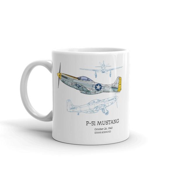 P-51 Mustang 11oz Mug
