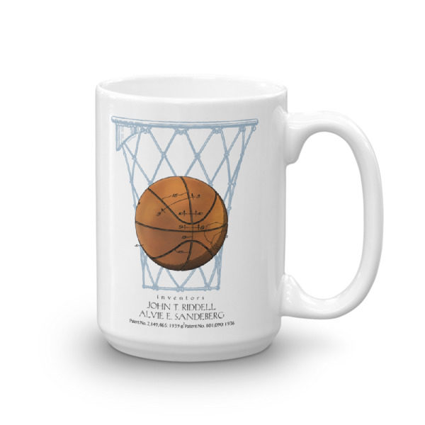 Basketball 15oz Mug