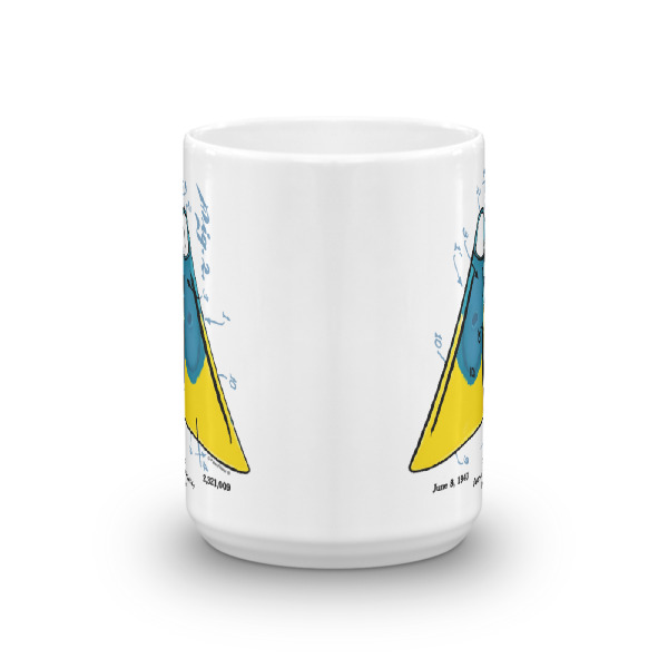 Churchill Fins 15oz Mug FRONT VIEW
