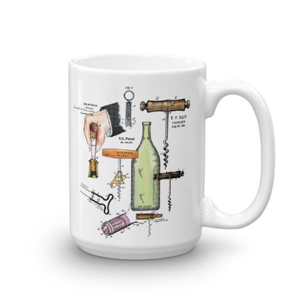 Corkscrew MS-Color 15oz Mug