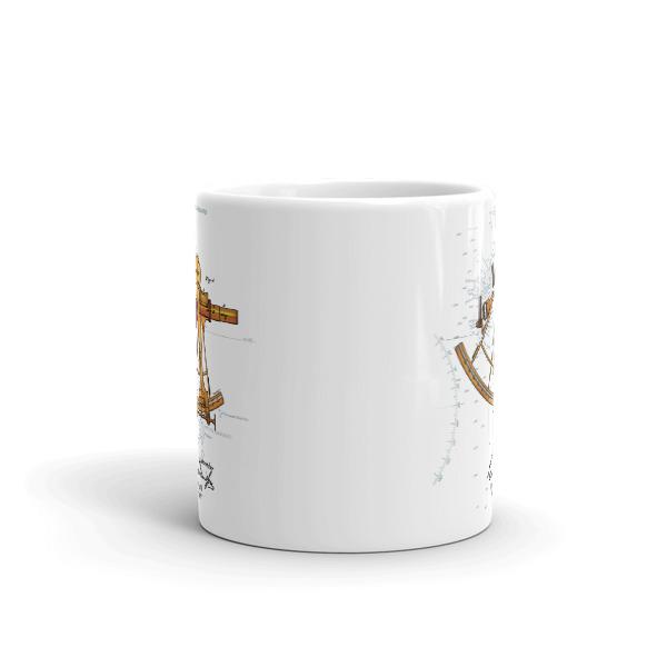 Sextant 11oz Mug FRONT VIEW
