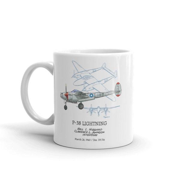 P-38 Lightning 11oz Mug