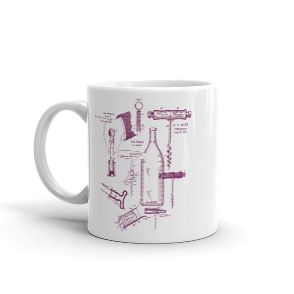Corkscrew MS-Lineart 11oz Mug
