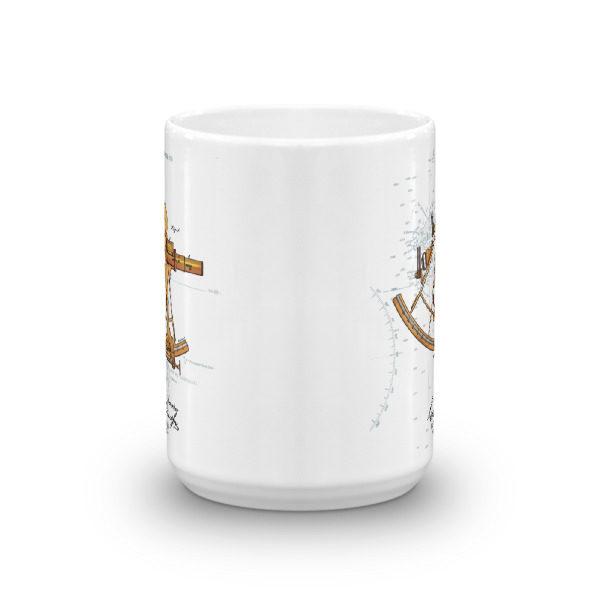 Sextant 15oz Mug FRONT VIEW