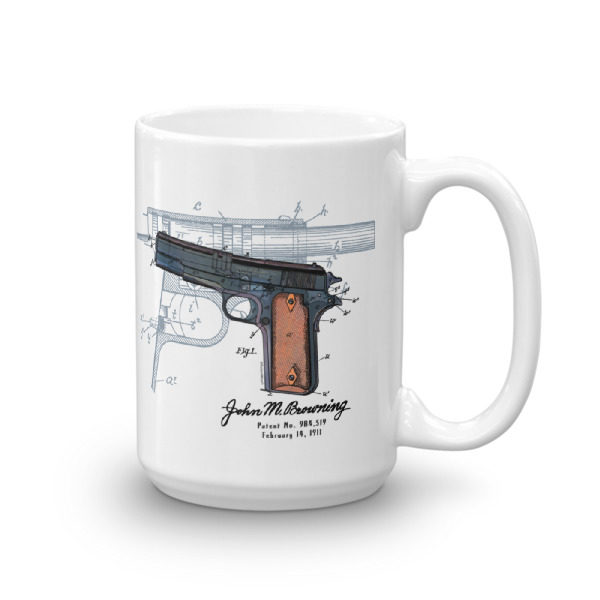 Browning Model 1911 15oz Mug