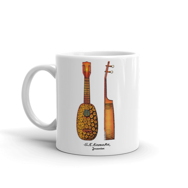Pineapple Ukulele Mug 11oz