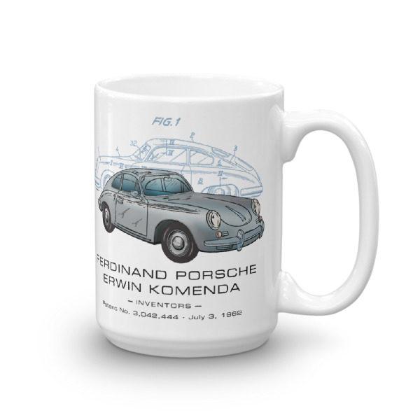 Porsche 356 15oz Mug